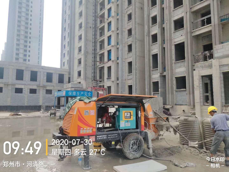 40荣耀高压细石泵K3T-150H再次征战河南郑州