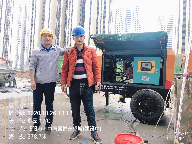 鸿运国际K3系列明星升级版助力咸阳中铁集团泾河新城项目