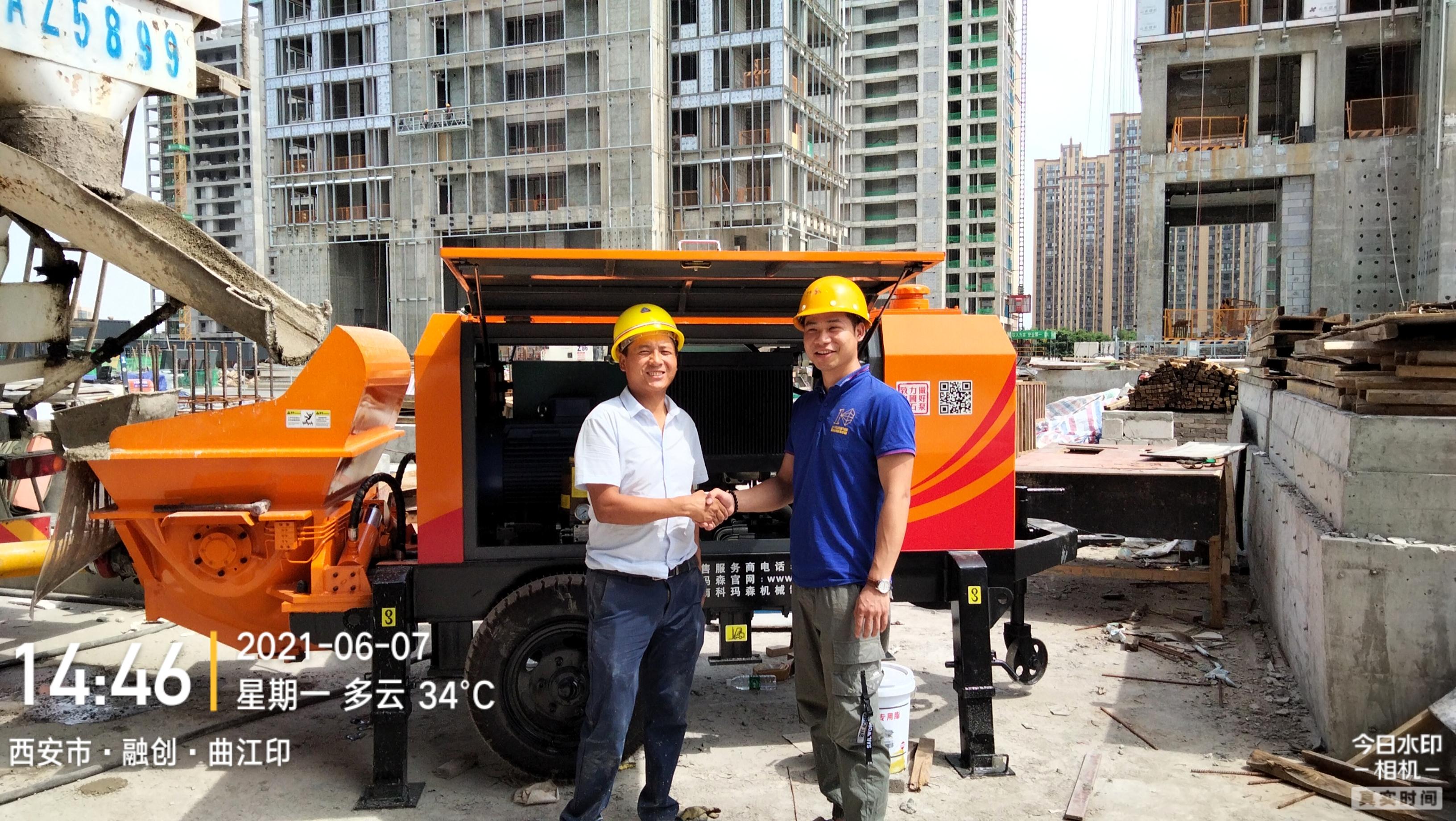 鸿运国际K3A助力西安曲江国际社区项目建设