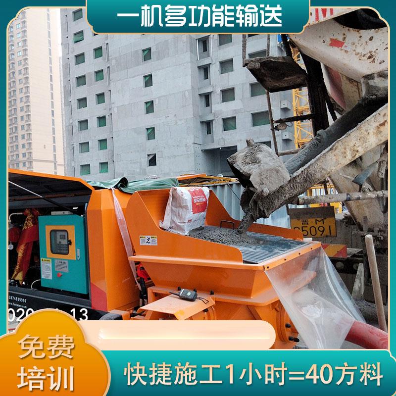 湖南鸿运国际拖泵的管道应该如何固定?