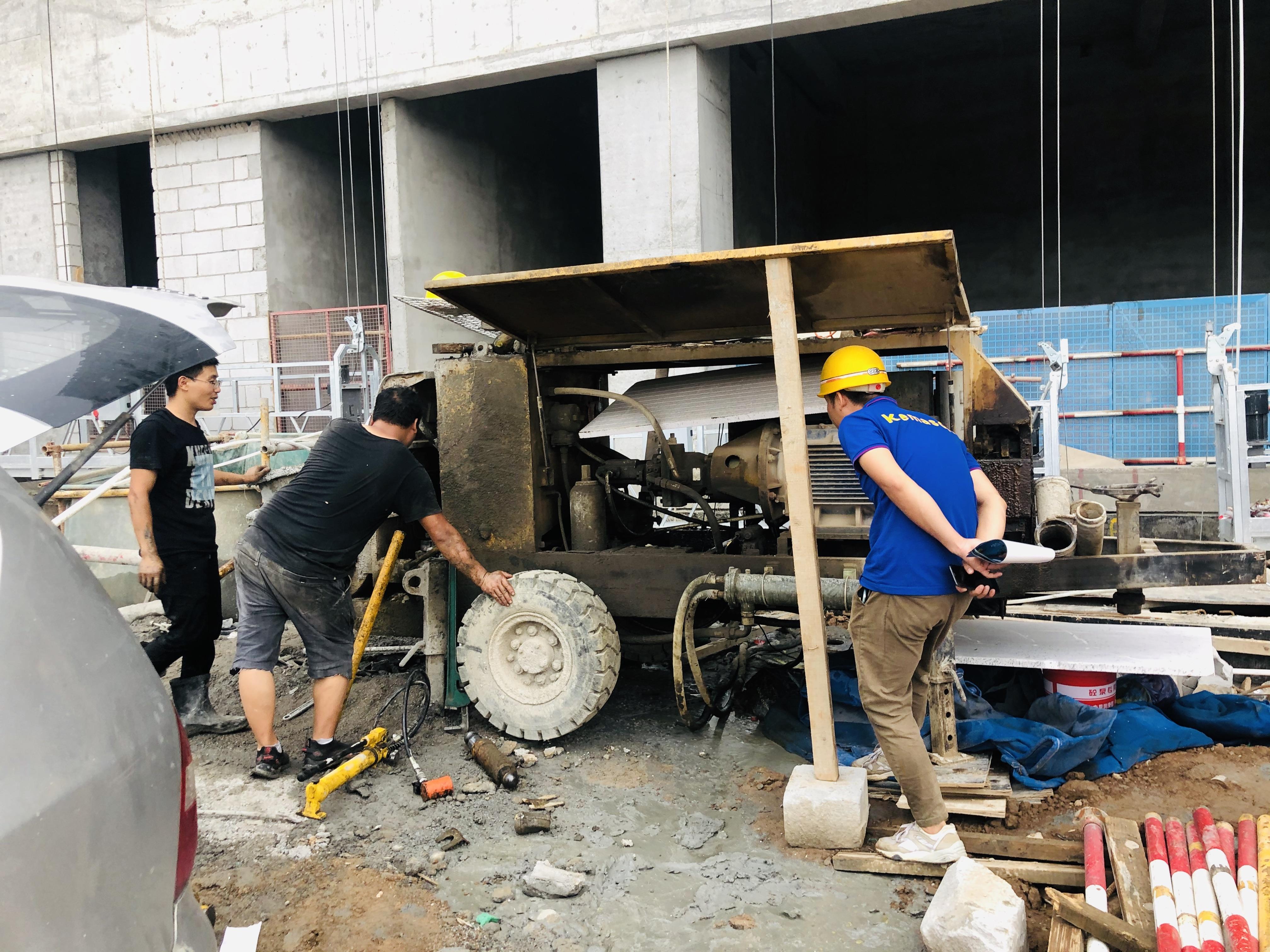 优质细石混凝土泵对软管的高要求是什么?