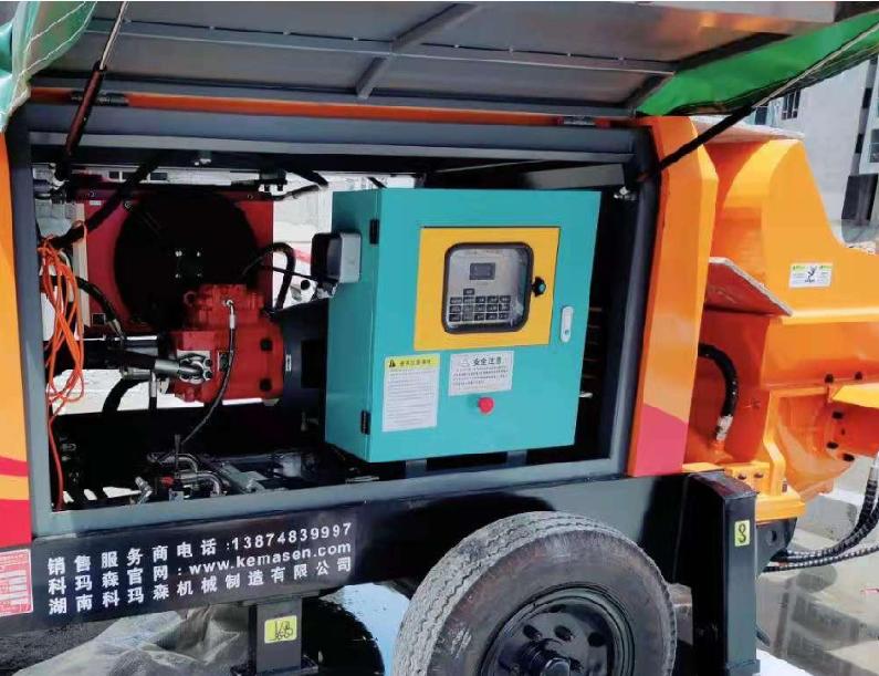 细石混凝土泵液压系统的维护需要检查哪些位置?