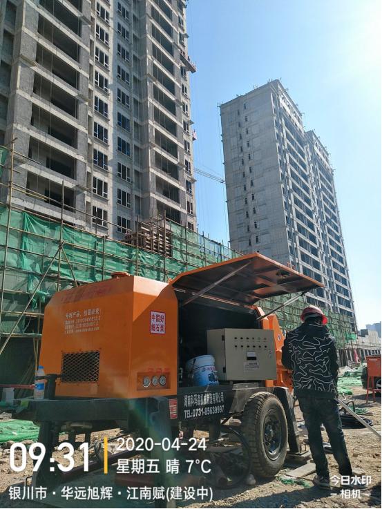 你了解细石混凝土泵的配管设计吗?