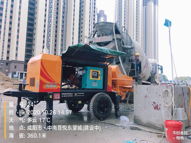 2020年4月,50泵K5--咸阳中建五局34层鸿运app官方下载最新版工况