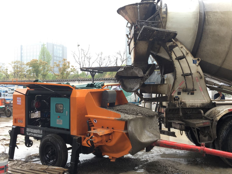 2020年6月,40泵K3T--北京施工工况