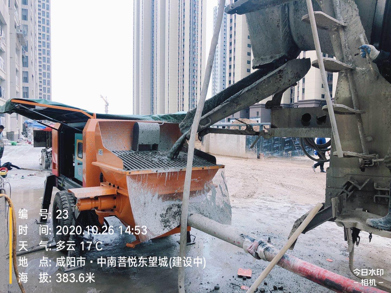 2020年6月,50泵K5--郑州地下车库施工工况
