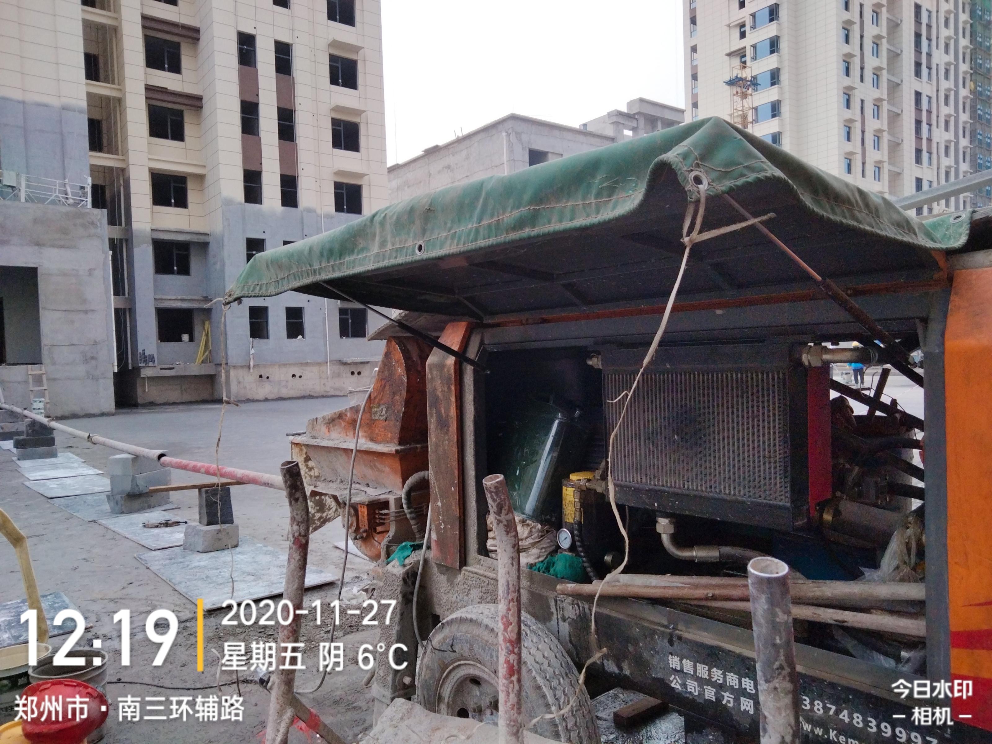 2020年7月,K3T-西安曲江褐石小镇46层鸿运app官方下载最新版工况